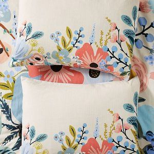 2 Rifle Paper for Anthropologie Garden Party Sham